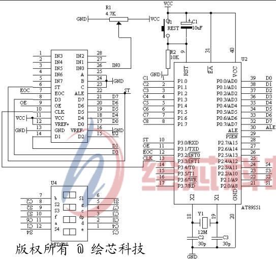 em78p418电压表电路图