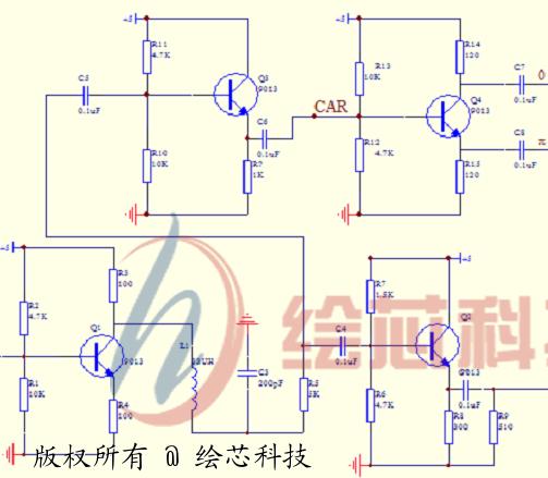 2fsk调制与解调电路