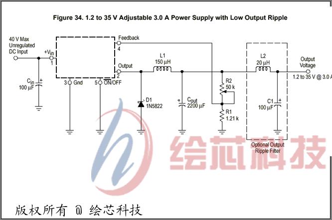 lm2576电路设计图