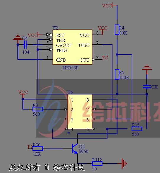 2 测量电容的电路