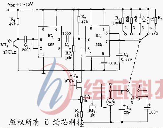 电路 电路图 电子 原理图 552_434